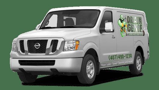 Drain Genie Plumbing Services Van